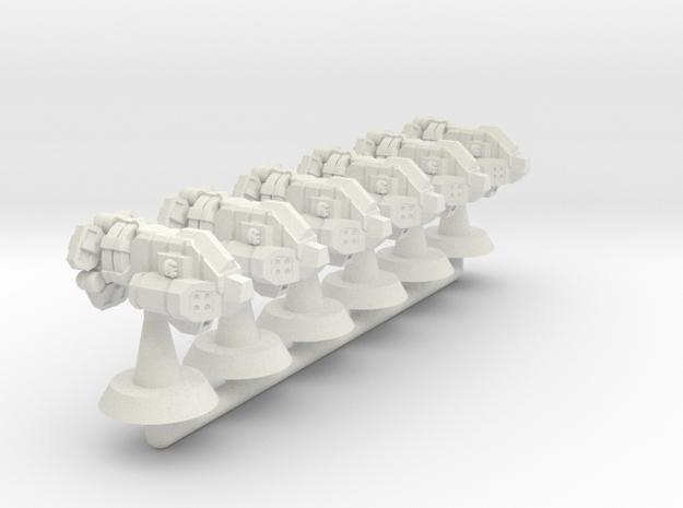 Bison Class Strike Frigate- 1:20000 in White Natural Versatile Plastic