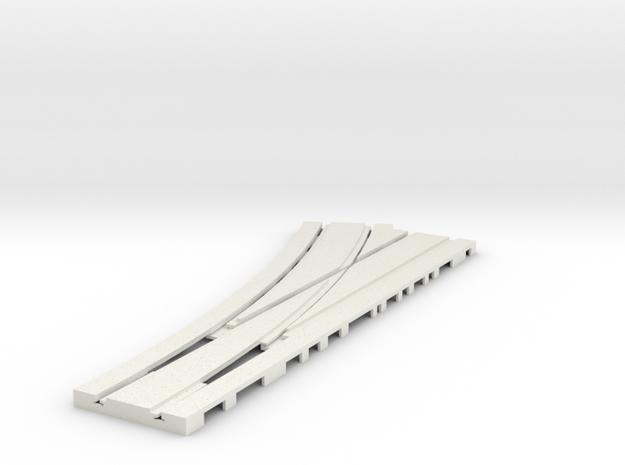 P-165stp-tram-point-lh-livel-pl-1a in White Natural Versatile Plastic