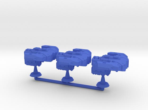 Sogfid Class Frigate - 1:20000 in Blue Processed Versatile Plastic