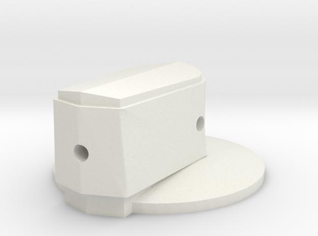 Canopy Defog in White Natural Versatile Plastic