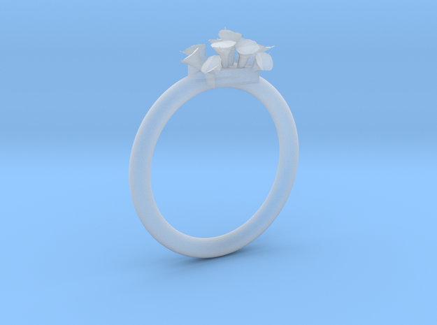 Size 10.5 Lilies Ring Customizable Size