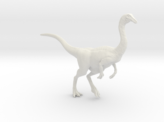 Gallimimus Pose 02 1/24 - DeCoster in White Natural Versatile Plastic