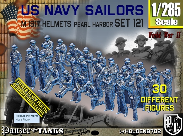 1/285 USN Pearl Harbor set 121 in Frosted Extreme Detail
