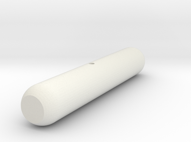 Flare Large Solid in White Natural Versatile Plastic