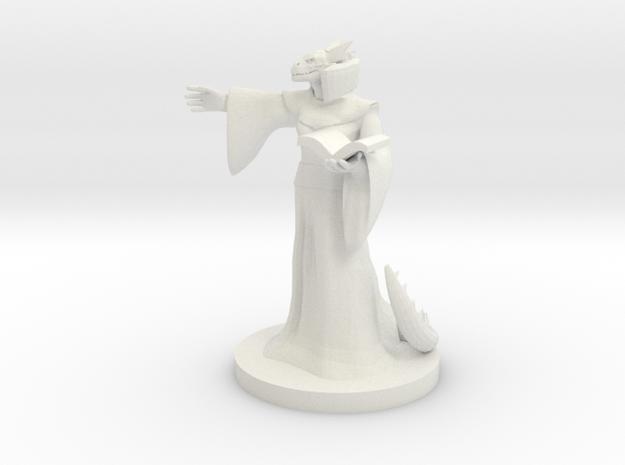 Dragonborn Warlock (female)