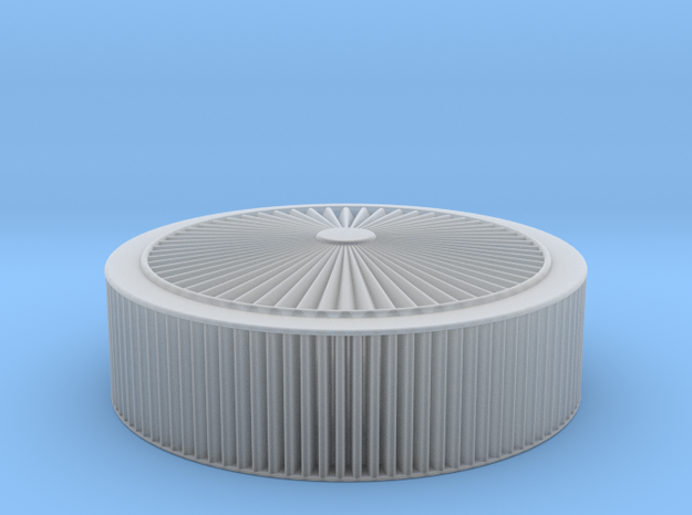 K&N 14x4 X-tream Air Filter in Smooth Fine Detail Plastic