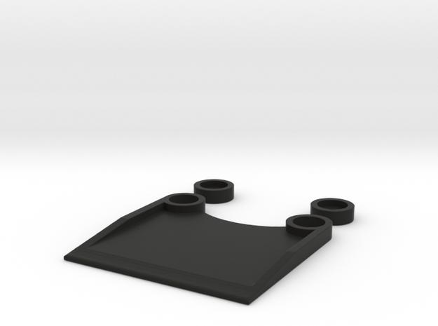 BBR Mini-z Transponder holder in Black Natural Versatile Plastic
