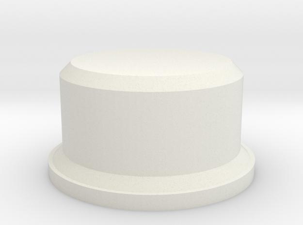 FuseBoxSwitch in White Natural Versatile Plastic