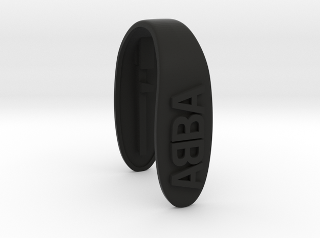 ABBA KEY FOB FOR MINI COOPER F MODELS in Black Strong & Flexible