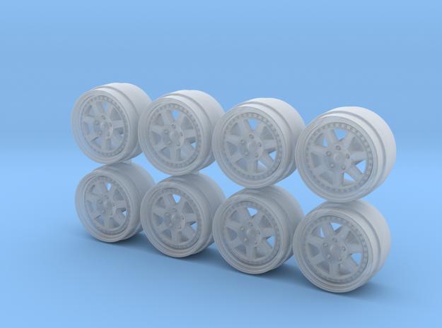 Mugen M7 Hot Wheels Rims in Smoothest Fine Detail Plastic