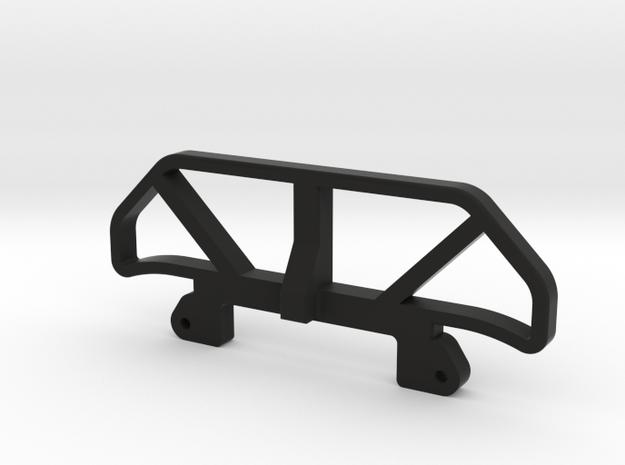 TC4 Rear Bumper in Black Natural Versatile Plastic