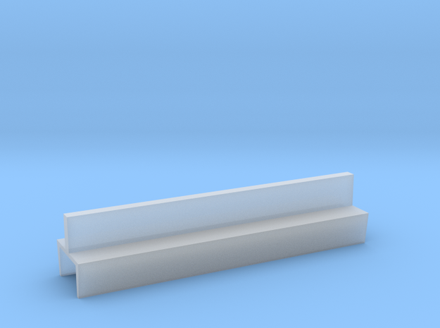 Profil 50mm Waggon-Sitzbank doppelt niedrig FUD/FE in Smooth Fine Detail Plastic
