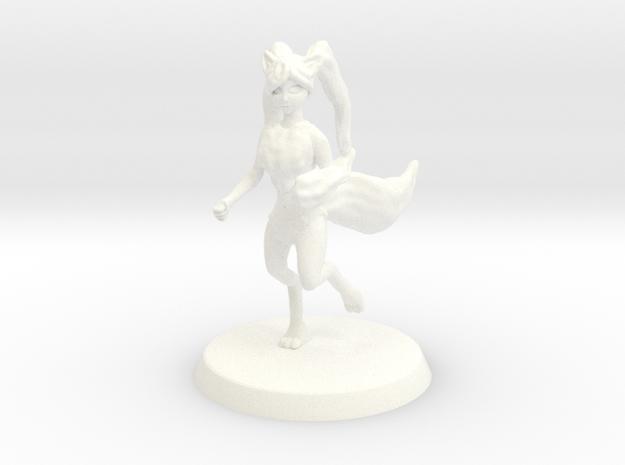 Chaos Daemon - Herald of Tzeentch/Kitsune Eldar in White Strong & Flexible Polished