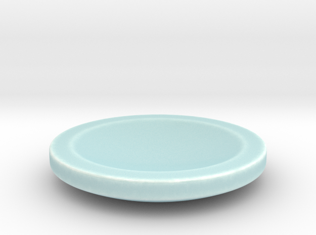 Designer ashtray in Gloss Celadon Green Porcelain