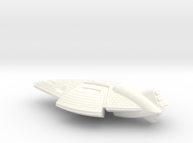 Leviathan Class Monitor - 1:20000 in White Processed Versatile Plastic