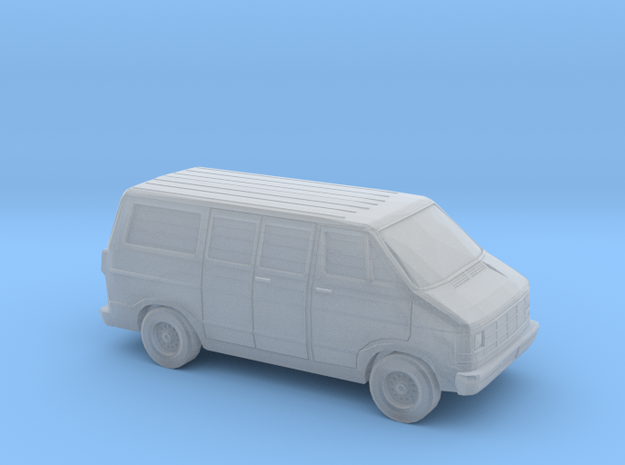 1/220 1986-93 Dodge Ram 150 Van in Smooth Fine Detail Plastic
