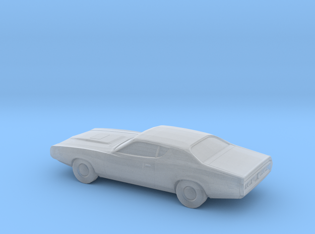 1/220 1974 Dodge Charger in Smooth Fine Detail Plastic