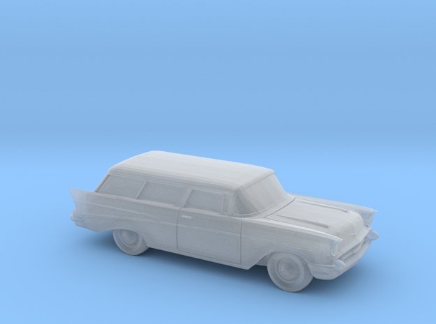 1/220 1957 Chevrolet Nomad in Smooth Fine Detail Plastic