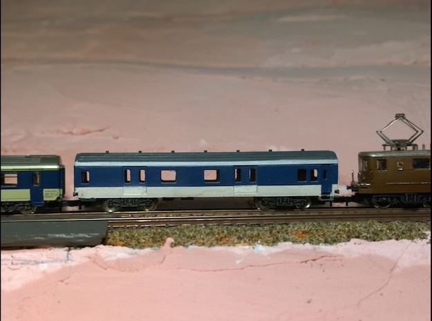 MC76 D ex-SNCF 3d printed