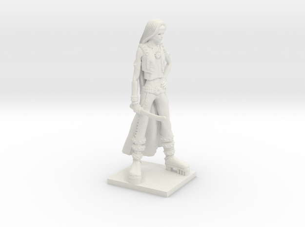 Fantasy Figures 08 - Rogue in White Strong & Flexible