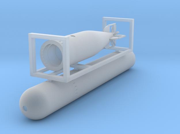 1 zu 72 Torpedo  in Smooth Fine Detail Plastic