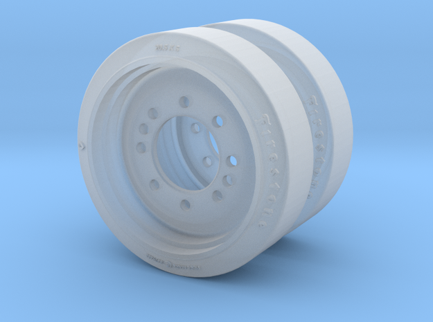 C135844 RIM AND DISC ASSEMBLY 1:35 in Smoothest Fine Detail Plastic