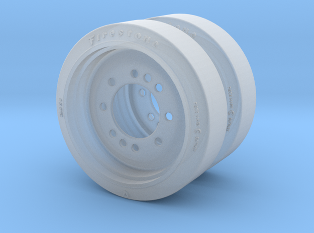 C135844 RIM AND DISC ASSEMBLY 1:16 in Smoothest Fine Detail Plastic