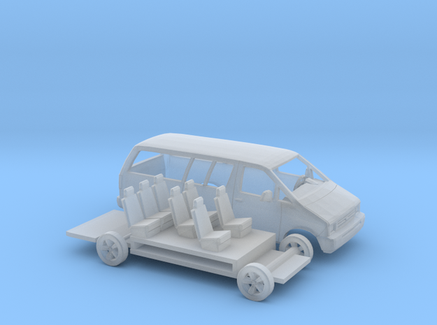 1/160 1986-95 Ford Aerostar Extended Kit in Frosted Ultra Detail