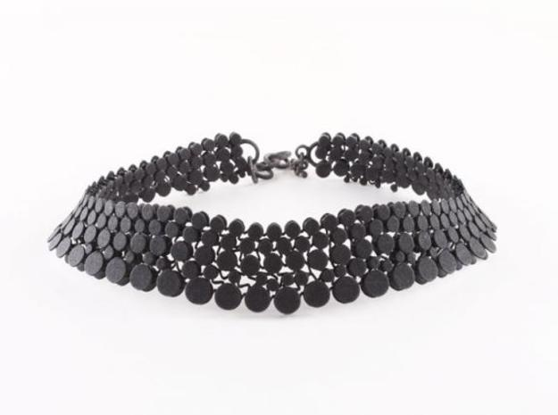 N12.choker in Black Strong & Flexible