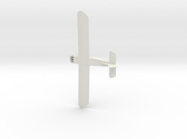 1/144th scale Waco CG-4 in White Natural Versatile Plastic