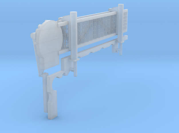 1:144 scale Walkway - Starbord - Short in Smooth Fine Detail Plastic