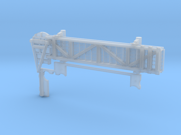 1:48 scale Walkway - Port - Short in Smooth Fine Detail Plastic