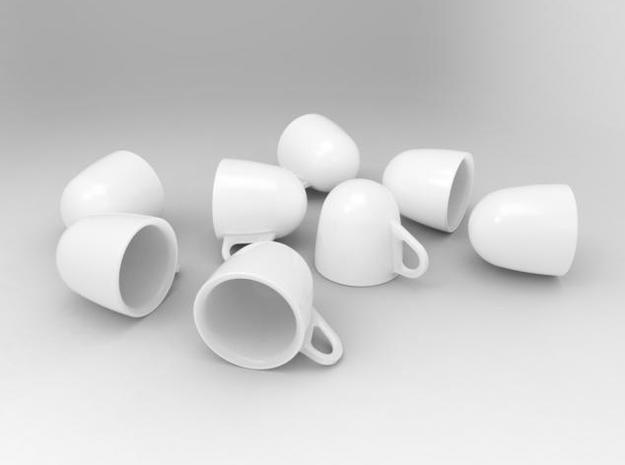 one cup a day | Day 13: Espresso Shot Cup 3d printed Anti-Tumbler