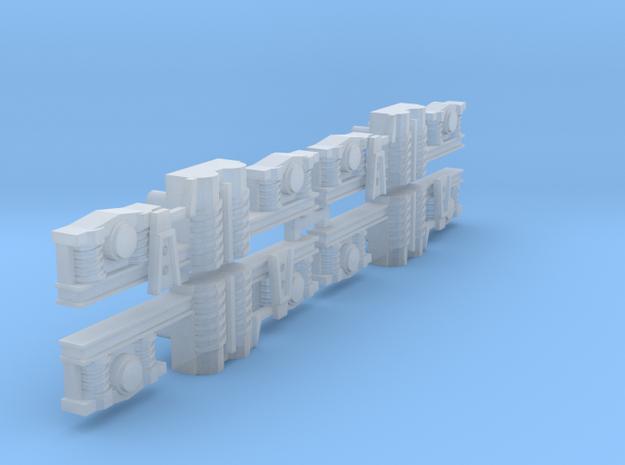 Ge4/4_2 Bogieplate in Smooth Fine Detail Plastic