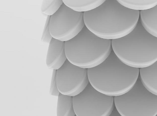 one cup a day | Day 15: Fish Scales Cup 3d printed detail