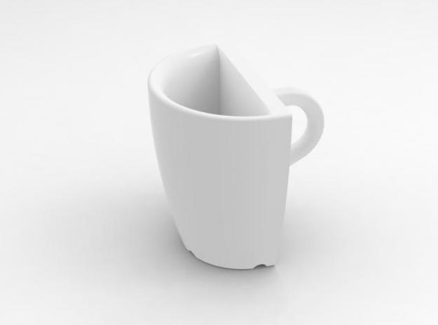 one cup a day | Day 16: 50% Cup 3d printed 50% cup