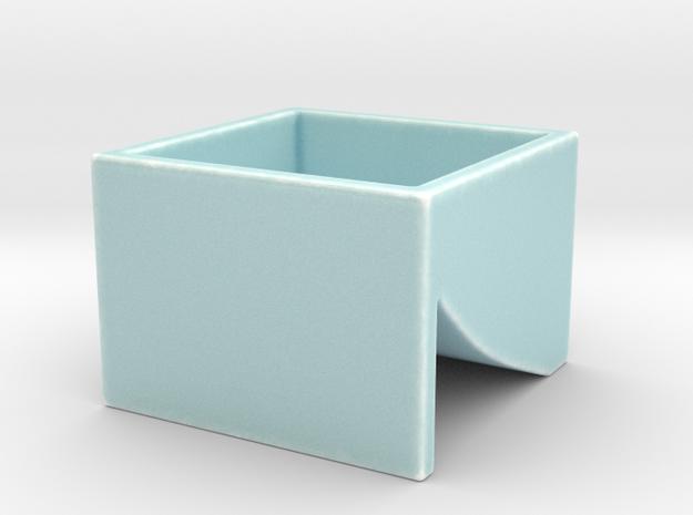 Cobb-Douglas Jello/Putty Mold DRS in Gloss Celadon Green Porcelain