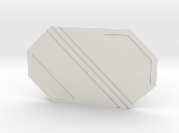 The Republic 2 in White Premium Versatile Plastic