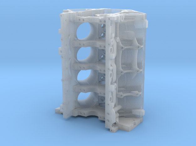 1/12th scale LS Engine Block in Smooth Fine Detail Plastic