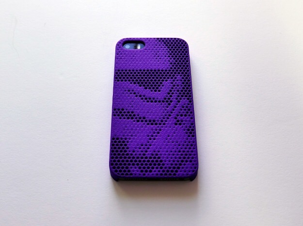 iPhone SE case_Stormtrooper in Purple Strong & Flexible Polished