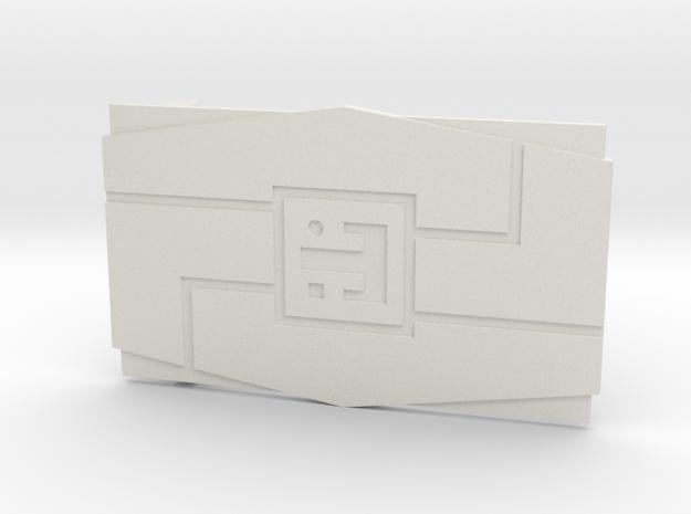 The Frontline in White Premium Versatile Plastic