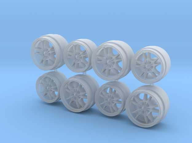 Mugen MF10 Hot Wheels Acura NSX Wheels in Smoothest Fine Detail Plastic