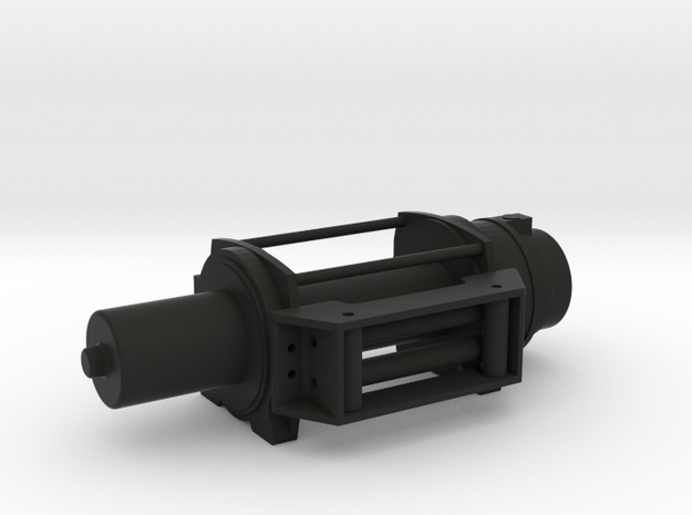 Offroad - Winch - RIGHT Version - 1/10 in Black Natural Versatile Plastic