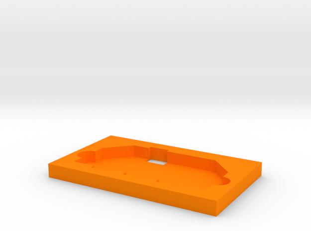Soporte in Orange Processed Versatile Plastic