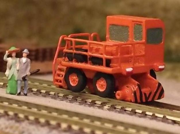 RailKing RK275 Railcar Mover - Zscale 3d printed Painting and scene by Peter Rogel in Germany
