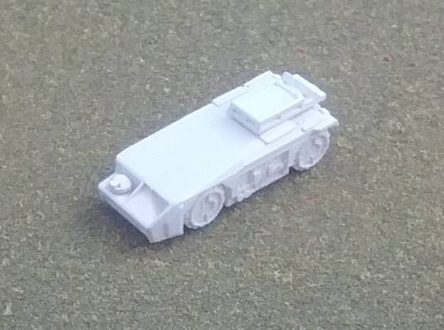 M577 Turret Variants in White Natural Versatile Plastic