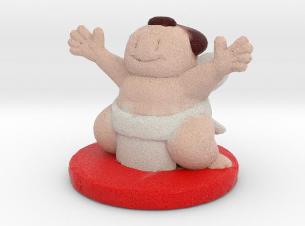 japan sumo in Full Color Sandstone