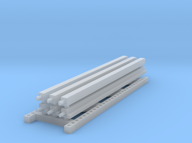 1/64 3 high 12ft PR Extension in Smooth Fine Detail Plastic