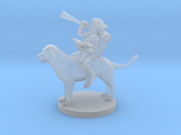 Halfling Bard on a Mount for Download