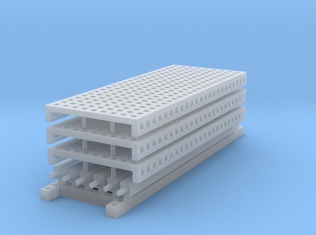 1/64 3 High 10ft Pallet Rack Mesh Extension